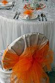 Disposizione per la cena di nozze partito-1 — Foto Stock