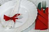 Arrangement for festive dinners - 2 — Стоковое фото