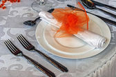 Arrangement for festive dinners - 3 — Стоковое фото