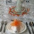 Arrangement for festive dinners - 7 — Foto Stock