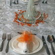 Arrangement for festive dinners - 7 — Lizenzfreies Foto