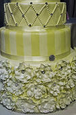 Wedding cake specially decorated.Detail 6 — Stock Photo