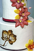 Wedding cake specially decorated.Detail 7 — Stock Photo