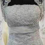 Wedding dress. Detail-13 — Stock Photo