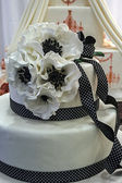 Wedding cake specially decorated.Detail 9 — Stock Photo