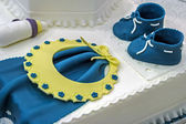 Cake for Christening. Detail 1 — Stock Photo