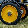Stock Photo: Giant wheel farm vehicle