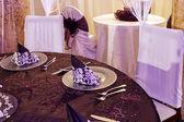お祝いディナー - 11 のための配置 — ストック写真