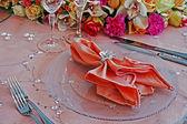 Düğün yemeği partisi-7 için düzenleme — Stok fotoğraf