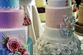 Wedding cake specially decorated.Detail 27 — Stock Photo