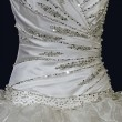 Wedding dress. Detail-32 — Stock Photo