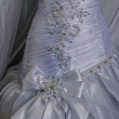 Wedding dress. Detail-35 — Stock Photo