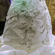 Wedding dress. Detail-37 — Stock Photo #19354451