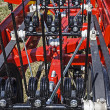 Agricultural equipment. Detail 108 - Stock Photo