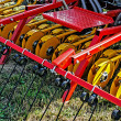 Stock Photo: Agricultural equipment. Detail 110