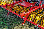 Agricultural equipment. Detail 110 — Stock Photo