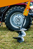Agricultural equipment. Detail 111 — Stock Photo