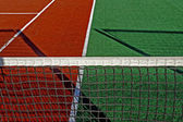 Synthetic sports field for tennis 3 — Stock Photo