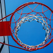 Panel basketball hoop-3 — Stock Photo