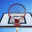 Royalty-Free Stock Photo: Panel basketball hoop-5