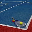 Tennis Balls & Racket-1 — Stock Photo
