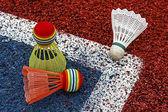 Petecas de badminton-3 — Fotografia Stock