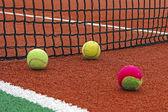 Tenisové míčky-1 — Stock fotografie
