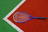 Tennisracket — Stockfoto