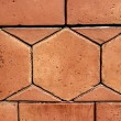 Sandstone for paving in the house — Stock Photo