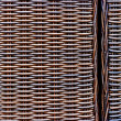 Wicker woven texture — Stock Photo