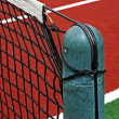 Synthetic sports field for tennis 13 - Stock Photo