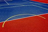 Синтетические спортивное поле 33 — Стоковое фото