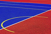 Synthetic sports field 41 — Stock Photo