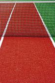 Terrain de sport synthétique pour le tennis 14 — Photo