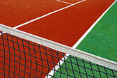Synthetic sports field for tennis 16 — Stock Photo