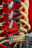 Agricultural equipment. Detail 113 — Stock Photo