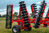 Agricultural equipment. Detail 115 — Stock Photo
