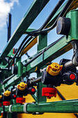 Agricultural equipment. Detail 117 — Stock Photo