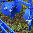 Agricultural equipment. Detail 126 — Stock Photo