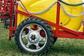 Agricultural equipment. Detail 124 — Stock Photo