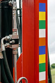 Agricultural equipment. Detail 128 — Stock Photo