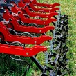 Agricultural equipment. Detail 133 — Stock Photo