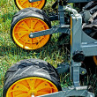 Stock Photo: Agricultural equipment. Detail 136