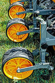 Agricultural equipment. Detail 136 — Stock Photo