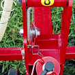 Stock Photo: Agricultural equipment. Detail 142