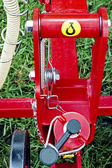 Agricultural equipment. Detail 142 — Stock Photo