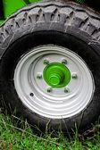 Agrícola rueda auto-1 — Foto de Stock