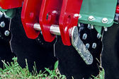 Agricultural equipment. Detail 150 — Stock Photo
