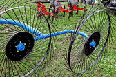 Agricultural equipment. Detail 148 — Stock Photo