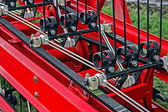 Agricultural equipment. Detail 154 — Stock Photo